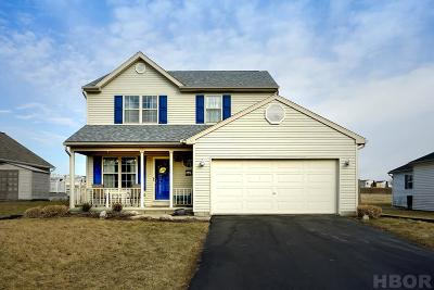 Findlay Single Family Home For Sale: 1807 Bishop Ln
