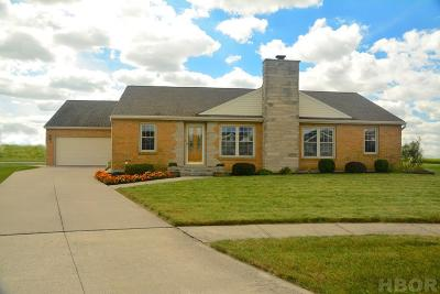 Findlay Single Family Home For Sale: 153 James Ct.