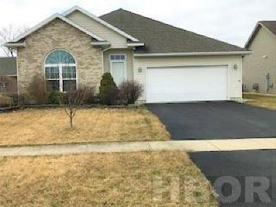Findlay OH Single Family Home For Sale: $185,000