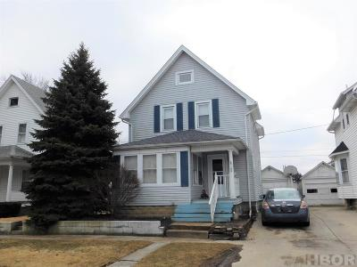 Tiffin Single Family Home For Sale: 169 Hall St