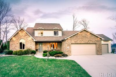 Findlay Single Family Home For Sale: 2941 Spyglass Dr