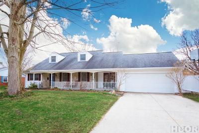 Findlay Single Family Home For Sale: 516 Bright Rd