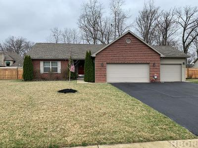 Findlay Single Family Home For Sale: 3326 Byrnwyck Dr