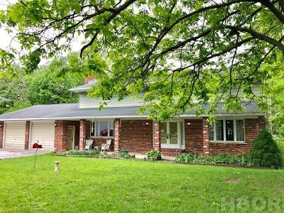 Mt Blanchard Single Family Home For Sale: 21691 Township Rd 154
