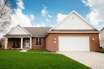 Findlay Single Family Home For Sale: 8365 Indian Lake Dr