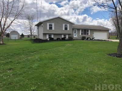 Tiffin Single Family Home For Sale: 3213 S State Route 53
