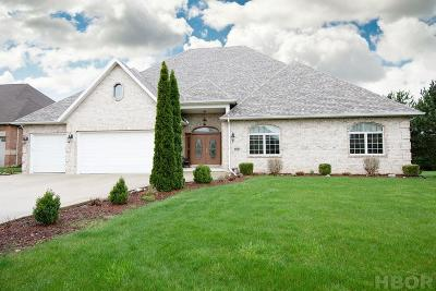 Findlay Single Family Home For Sale: 8398 Lakeside Dr