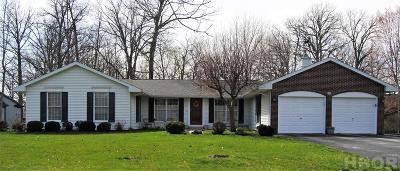 Findlay Single Family Home For Sale: 2633 Foxfire Ln