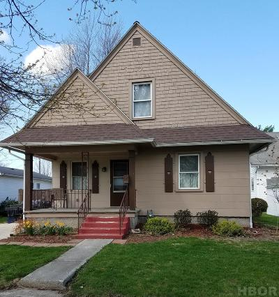 Fostoria Single Family Home For Sale: 681 N Poplar
