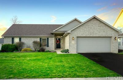 Findlay Single Family Home For Sale: 1310 Kennsington Dr
