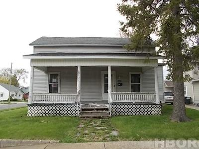 Single Family Home For Sale: 602 Wyandot St