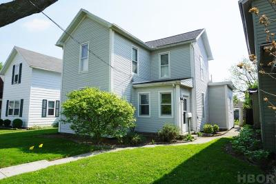 Findlay OH Single Family Home For Sale: $99,500