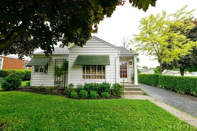 Findlay OH Single Family Home For Sale: $119,000