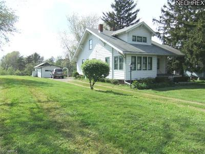 Brunswick Single Family Home For Sale: 976 Pearl Rd