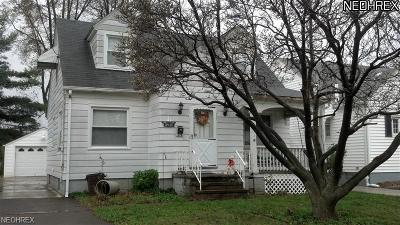 Lorain Single Family Home For Sale: 1031 West 29th St