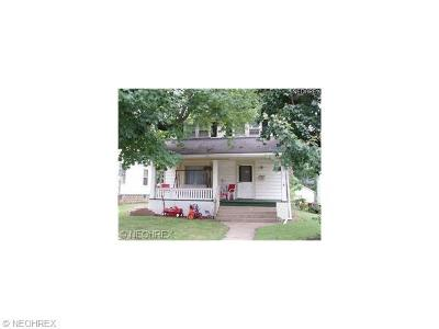 Zanesville Single Family Home For Sale: 411 Seborn Ave