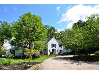 Gates Mills Single Family Home For Sale: 1139 West Hill Dr
