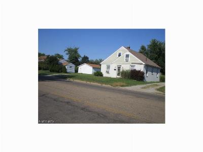 Zanesville OH Single Family Home For Sale: $129,500
