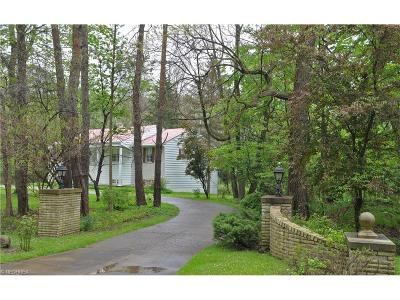 Gates Mills Single Family Home For Sale: 527 Riverview Rd