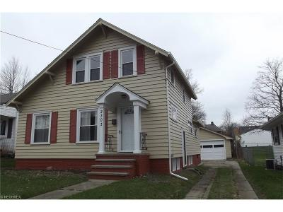 Alliance OH Single Family Home Sold: $83,500