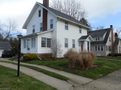 Alliance OH Single Family Home Sold: $129,900