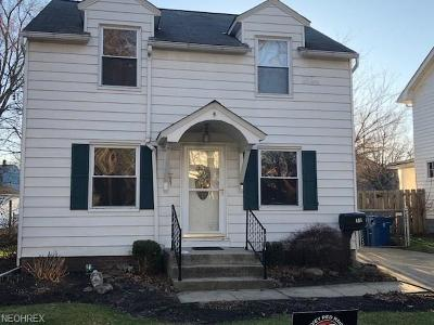 Painesville OH Single Family Home For Sale: $109,000