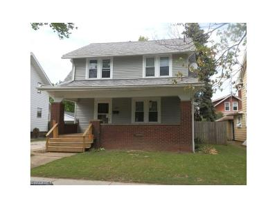 Alliance OH Single Family Home Sold: $82,500