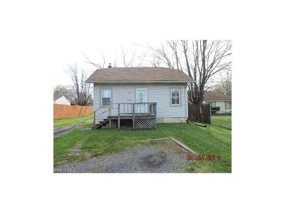 Youngstown OH Single Family Home Sold: $12,250