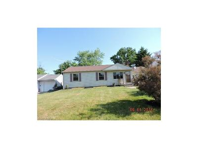 Girard OH Single Family Home Sold: $42,000