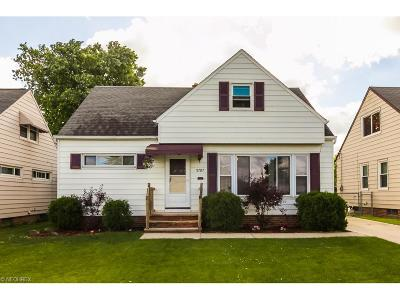 Single Family Home Sold: 5707 East 139th St