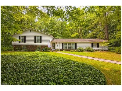 Chagrin Falls Single Family Home For Sale: 36 Cascade Dr