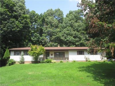 Nashport OH Single Family Home Sold: $164,900