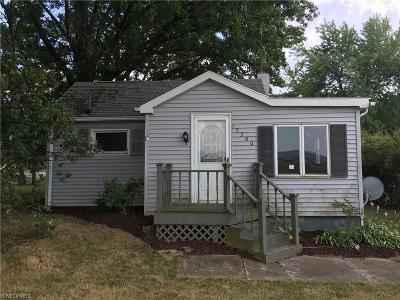 Alliance OH Single Family Home Sold: $39,900