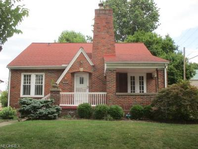 Zanesville OH Single Family Home Sold: $120,000