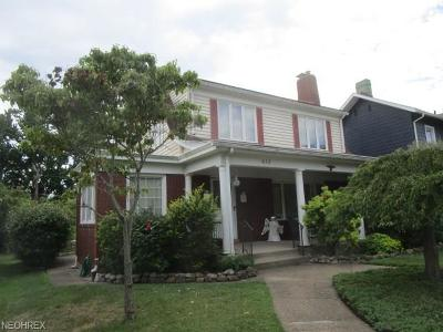 Zanesville OH Single Family Home Sold: $102,300
