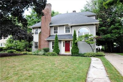 Shaker Heights Single Family Home For Sale: 2966 Eaton Rd