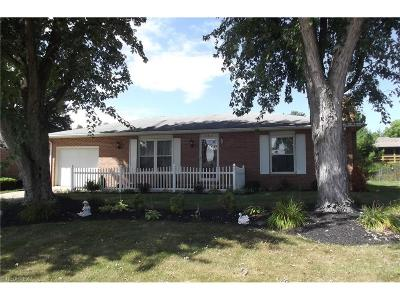 Alliance OH Single Family Home Sold: $110,000