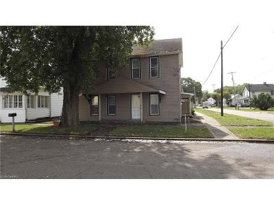 Frazeysburg OH Single Family Home For Sale: $56,900