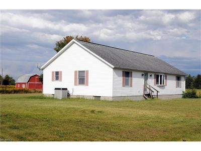 Guernsey County Single Family Home For Sale: 4391 Mantua Rd