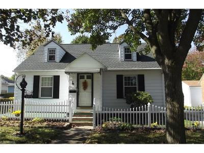 Alliance OH Single Family Home Sold: $96,900