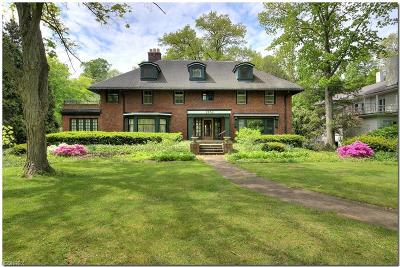Cleveland Heights Single Family Home For Sale: 2952 Fairmount Blvd