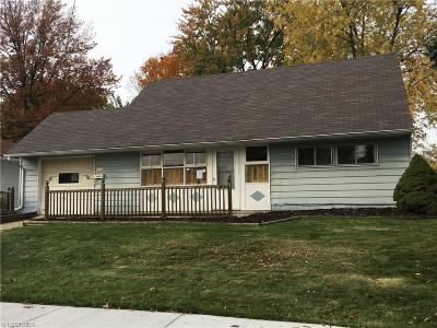 Alliance OH Single Family Home For Sale: $39,900