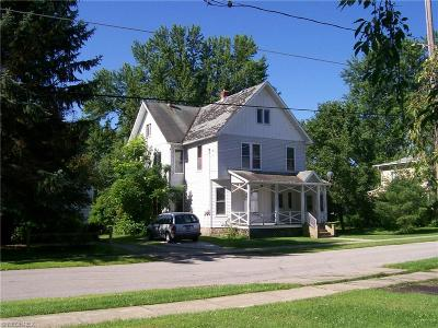 Ashtabula County Multi Family Home For Sale: 175 Hickory St