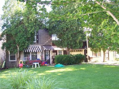 Ashtabula County Multi Family Home For Sale: 166 Hickory St