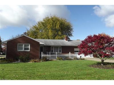 Alliance OH Single Family Home Sold: $127,300