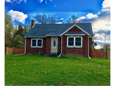 Single Family Home For Sale: 27099 Cook Rd