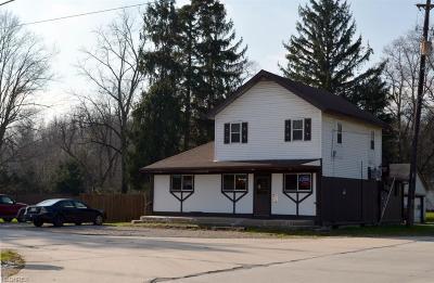 Rock Creek Commercial For Sale: 4536 Footville Richmond Road