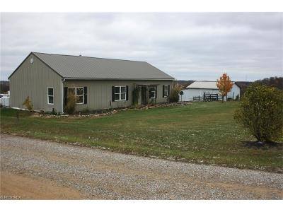 Perry County Single Family Home For Sale: 3042 Township Road 124 Northeast
