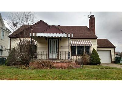 Alliance OH Single Family Home Sold: $34,900