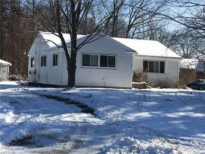 Alliance OH Single Family Home Sold: $45,885
